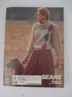 Vintage 1988 Sears Department Store Fall Winter Catalog