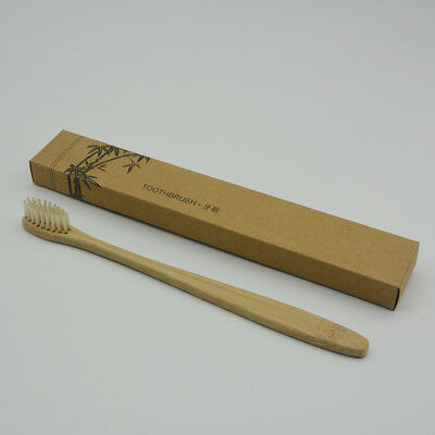 Eco-friendly Bamboo Toothbrush Oral Care Teeth Brushes Soft Natural Bristles