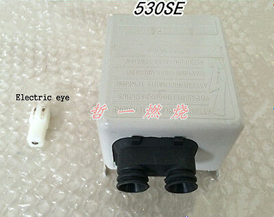 530SE control box For Riello 40G oil burner controller + Electric eye #D2725 LV