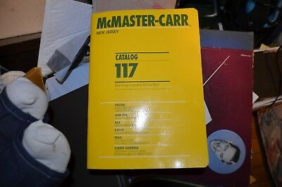 McMaster Carr Catalog 117 New Jersey... Free Shipping