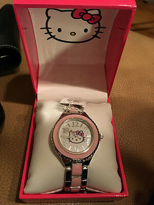 Hello Kitty Pink Watch In Box Needs new battery