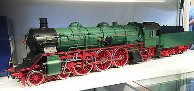 Bockholt 1 Gauge Saxon Steam Locomotive 18.0 204 ESU Locomotive Sound Rarity NEW