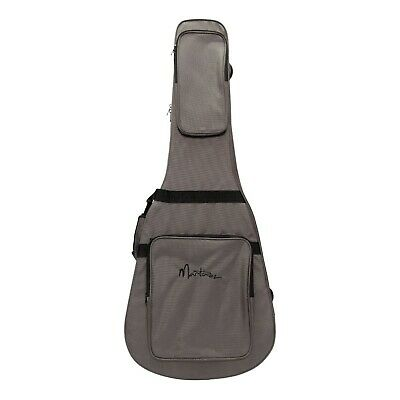 New Martinez Deluxe Shaped Polyfoam Dreadnought Acoustic Guitar Case Bag