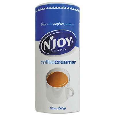 N'Joy Non-Dairy Coffee Creamer, Original, 12 oz Canister, 3/Pack 086631908144