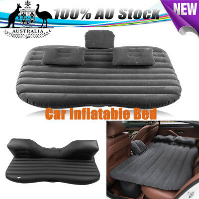AU PVC Car Soft Inflatable Bed Back Seat Mattress Airbed for Rest Sleep Camping