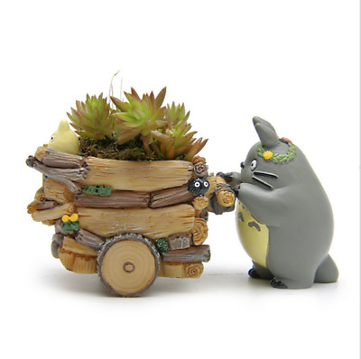 Studio Ghibli Cartoon Anime My Neighbor Totoro MINI Flowerpot Action Figure Gift