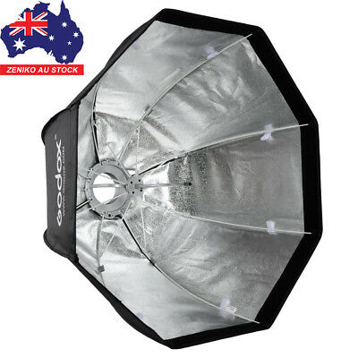 "AU Godox 47"" 120cm Octagon Umbrella Softbox Bowens Mount for Studio Flash Strobe"