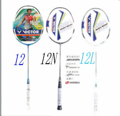 Badminton racket racquet VICTOR BRAVE SWORD 12 12L 10 11 LYD Complete threading