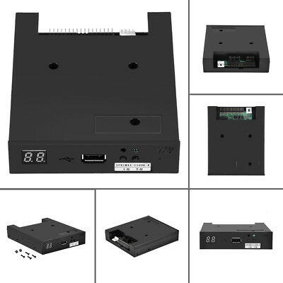 "3.5"" ABS USB Floppy Disk Drive Emulator Simulator for ROLAND E86 E96 Keyboard OF"