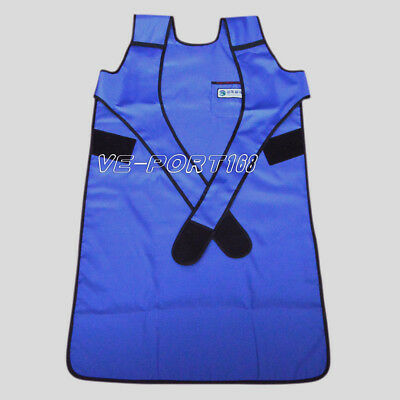 Flexible X-Ray Protection Protective Lead Apron 0.35mmpb Blue FAA07 L US Ship