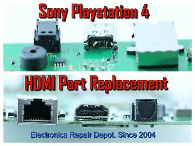 Sony Playstation 4 HDMI Port Replacement PS4 Repair Service (Entire Console)