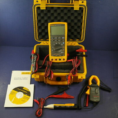New Fluke 789 Processmeter, Clamp, Accessories, Hard Case, More