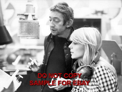 France Gall - Exclusive Unpublished PHOTO Ref 122 Serge Gainsbourg
