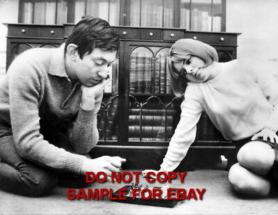 France Gall - Exclusive Unpublished PHOTO Ref 125 Serge Gainsbourg