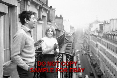 France Gall - Exclusive Unpublished PHOTO Ref 127 Serge Gainsbourg