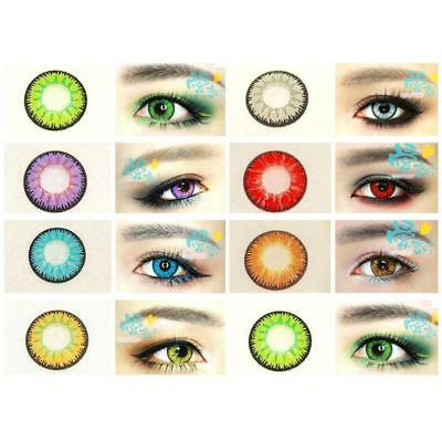 Contact colors discount lenses Kawaii Eye contacts lenses for eyes,yearly use