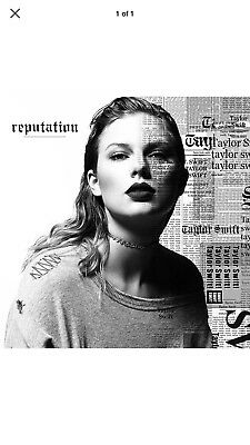 TAYLOR SWIFT REPUTATION CD (November 10th 2017) NEW & SEALED