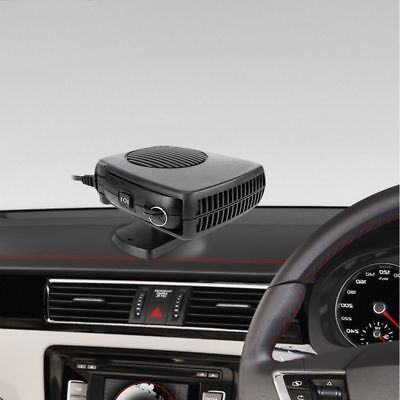 12V Portable Car Dash Heater Handle Hot Or Cold Air Dryer Fan Defroster 150W