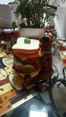 "Scooby Doo Sandwich Cookie Jar - Vintage, Perfect Condition, 9 3/4"" Height"