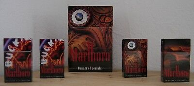 Country Specials - große Marlboro Flip Box incl. 4 Packs - limitierte Edition.