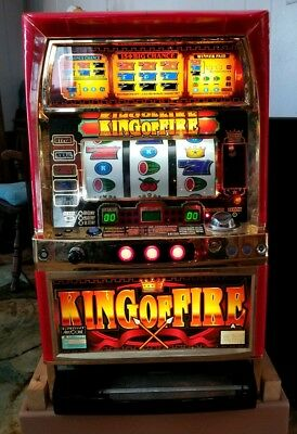 King Of Fire Aristocrat Japanese Casino Slot Machine Skill Stop Token  NDT