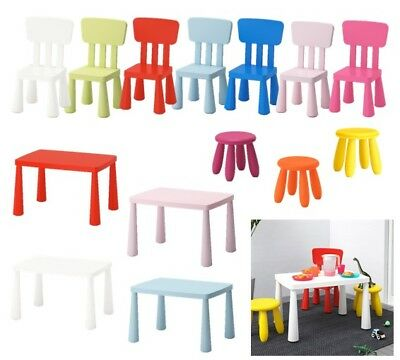Mammut Ikea Kinder Kita Tisch Stuhl Hocker Solo Set In Out