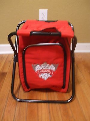 Smirnoff Chair Seat Cooler Backpack Tailgate Ice Chest Cooler