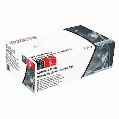 HPC Fine Nitrile Powder Free Gloves - Small (GD19S) - Pack of 100