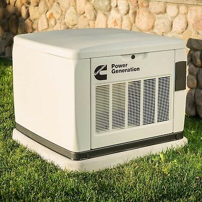Cummins 13KW Home Standby Generator 100 Amp Automatic Transfer Switch