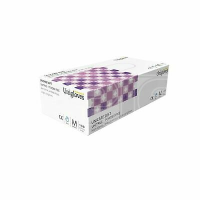 Unicare Nitrile/Vinyl Powder Free Gloves - Small (GS0052) - Pack of 100
