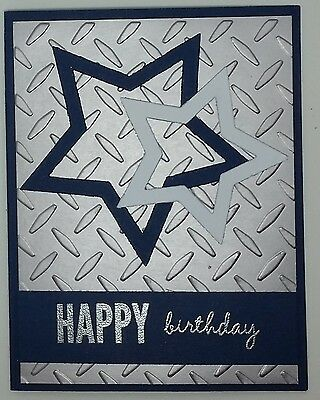 handcrafted greeting card happy birthday masculine dallas