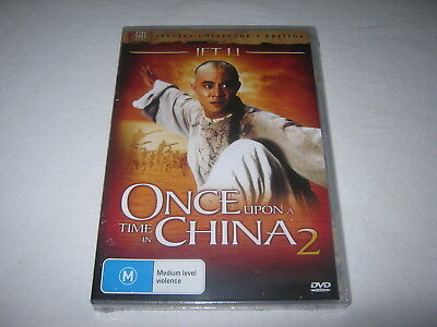 Once Upon A Time In China 2 - Brand New & Sealed - Region 4 - DVD