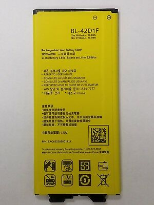 Replacement Battery For LG G5 H820 AT&T BL-42D1F Li-ion 3.85V 2800mAh