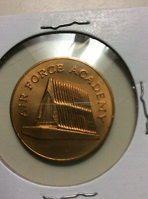 Franklin Mint 1969 Sunoco Landmarks of America Broze Coin/token Air Force Academ