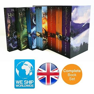 Harry Potter Complete New 7 Book Set J K Rowling Edition Collection Paperpack