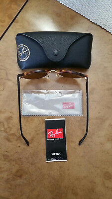 Authentic Ray-Ban  Rb 4246  1160  Club Round Sunglasses