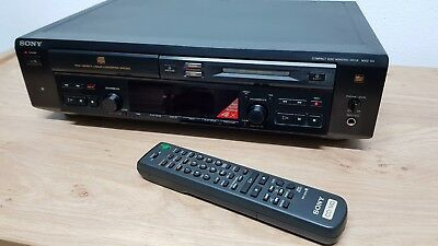Sony MXD-D3 Black MD Recorder - CD-Player Combination Deck *High Speed Dubbing*