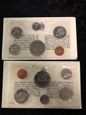 1971 and 1972 Canadian Mint set