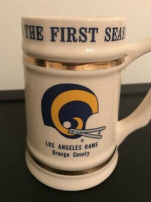 Los Angeles Rams 1980 The First Season Collectible Cup