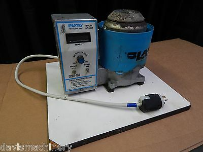 Plato Model SP500 T Precision Solder Pot With Cast Iron Crucible Works Well 115V