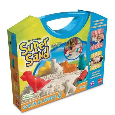 Goliath 83236 Super Sand Koffer Cats & Dogs