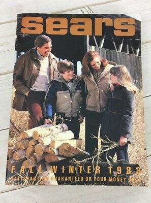 Vintage SEARS Roebuck & Co. Fall Winter 1983 Catalog Book 1500+ Pages!