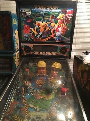 1994 Williams Red & Ted's ROAD SHOW Pinball Machine NICE WORKING MACHINE