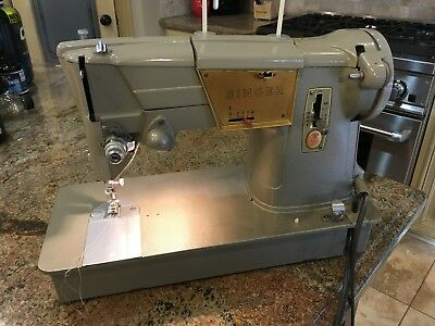 Heavy Duty Industrial Strength Singer 328K Sewing Machine-All Stell