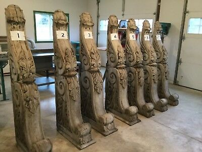 Corbels Antique Vintage Architectural Salvage Wood . ON SALE NOW!