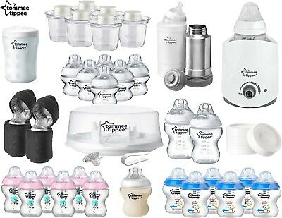 Tommee Tippee Feeding Bottle Microwave Steriliser Insulated Powder Milk Storage
