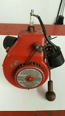 Vintage OHLSSON & RICE Engine with GEAR REDUCTION