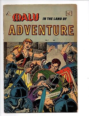 Malu in the land of adventure 1964 #1