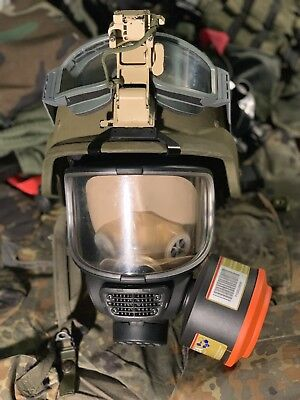 SEA SMF full face riot gas mask