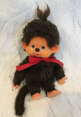 Vintage MONCHHICHI Plush Monkey With Soother